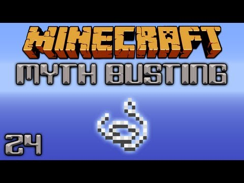 Can Mobs Spawn On String? [Minecraft Myth Busting 24]