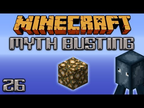 Are Squid Attracted To Light? [Minecraft Myth Busting 26]