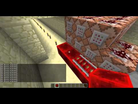 Automated Mining in Minecraft with Redstone & Command Blocks