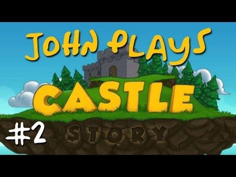 Castle Story Early Access - Survival Episode 2 - Start of a castle, kinda