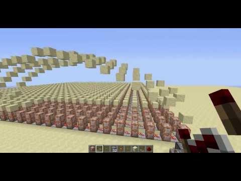 Minecraft: Command Block Sandwave
