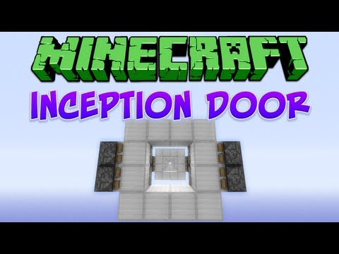 Minecraft: Inception Door Tutorial