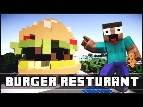 Minecraft - Modern Burger Restaurant