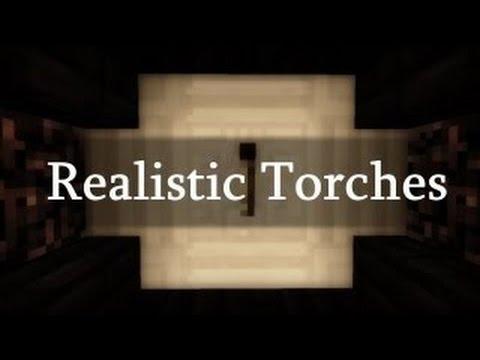Realistic Torches in Minecraft - Minecraft Concept