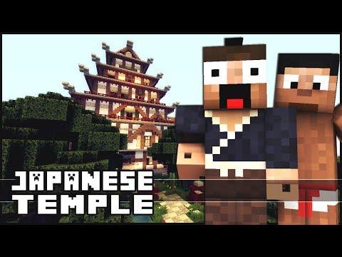 Minecraft videos temple minecraft japanese temple publicscrutiny Gallery