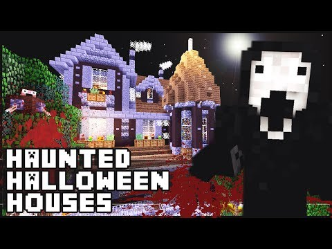 Minecraft - Haunted Halloween Houses