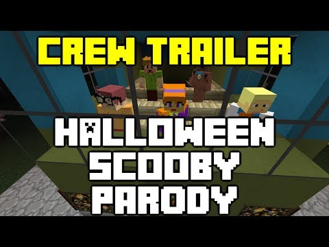 Minecraft - The Crew's Halloween Scooby Parody Trailer