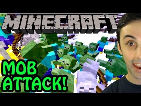 MINECRAFT MOB ATTACK! (Server Event)