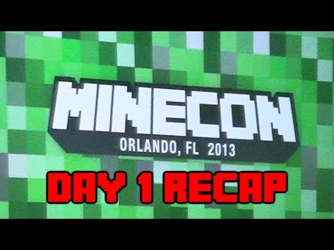 Minecraft - Minecon Day 1 Recap