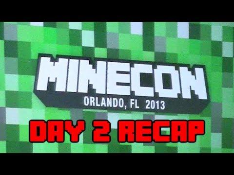 Minecraft - Minecon Day 2 Recap