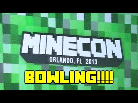 Minecon Extra - Crew and Friends go Bowling