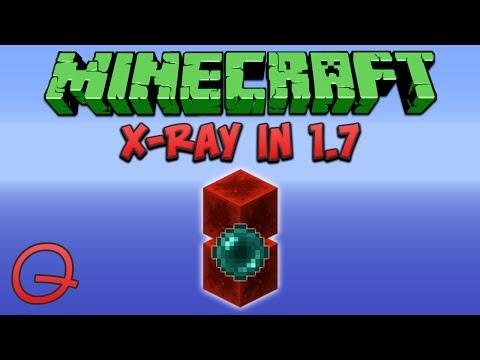 Minecraft: X-Ray In Minecraft 1.7 (Quick) Tutorial