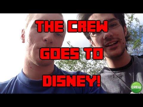 The Crew Goes to Disney World