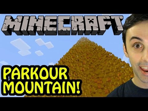 MINECRAFT PARKOUR MOUNTAIN! (Server Event)