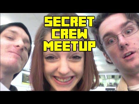 Pre Minecon - A UK Crew Member Surprises Giz and Danny