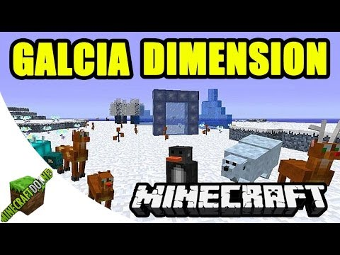 Glacia Dimension Mod | Minecraft 1.6.4 / 1.7.2 Mods (Mod Showcase & Download)