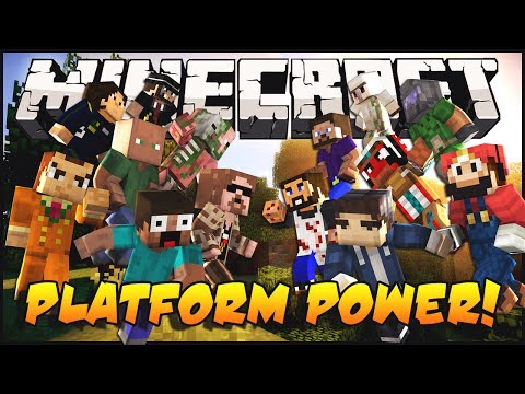 Minecraft Mini-Game: Platform Power!