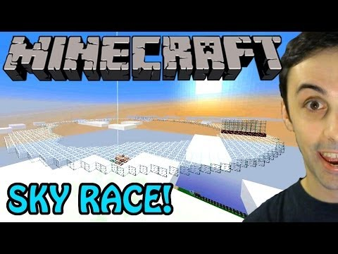 SKY RACE! (Minecraft Server Event)