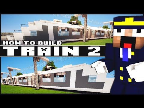 Minecraft Vehicle Tutorial - Train - Part 2