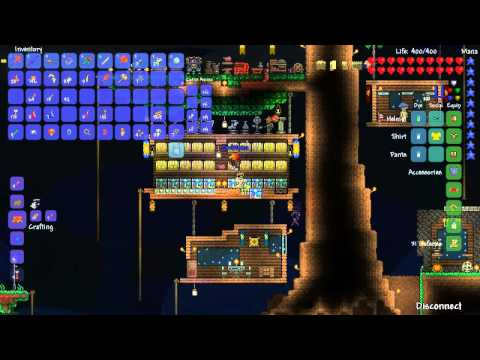 Terraria 1.2 - Episode 28: Flesh Farming