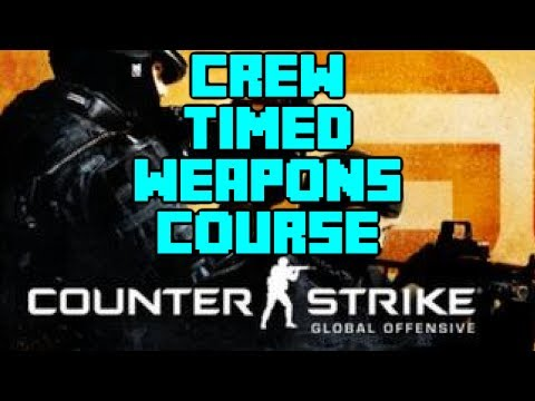 Counterstrike GO - Weapons Range Timed Challenge