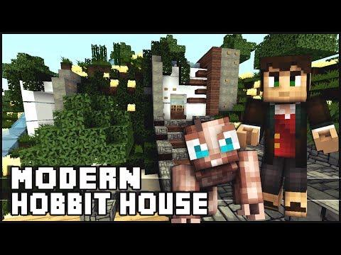 Minecraft - Modern Hobbit House
