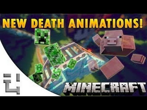 GHOST SHATTER DEATH ANIMATION MOD Minecraft 1.6.4/1.7.2 Mod Showcase