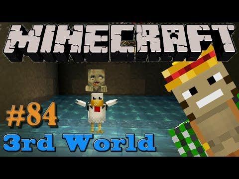Chicken Jockey Malfunction! - Minecraft 3rd World LP #84