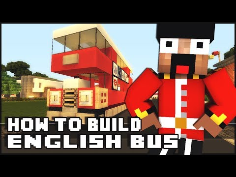 Minecraft Vehicle Tutorial - English Bus