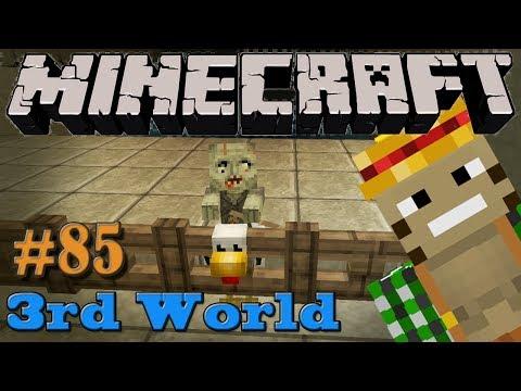 Chicken Jockey Farm - Minecraft 3rd World LP #85