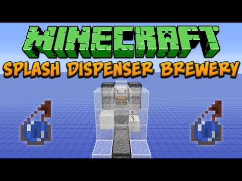 Minecraft: Splash Dispenser Brewery Tutorial