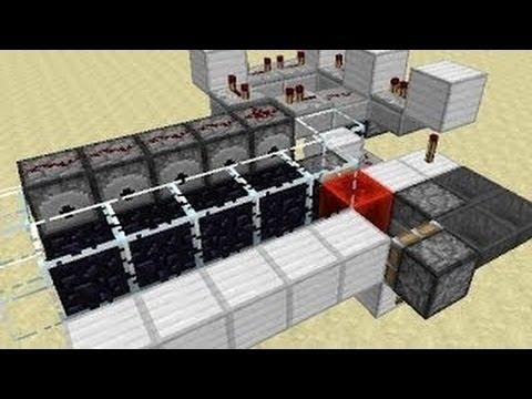 Minecraft 1.7.4: String Obsidian Generator Machine Tutorial
