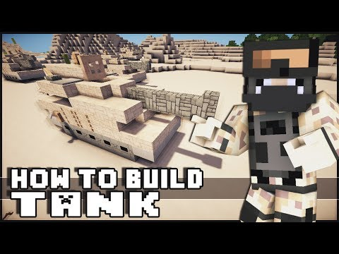 Minecraft Vehicle Tutorial - Tank