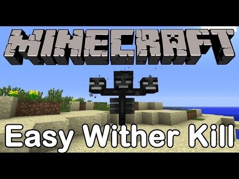 Minecraft 1.7.4: Easiest Way Too Kill the Wither