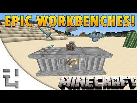 SUPER 3D CRAFTING IN MINECRAFT - Minecraft Mod Review / Showcase