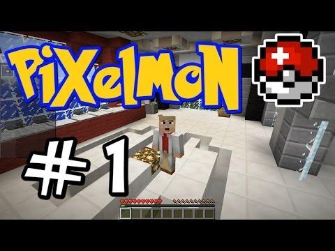 Minecraft Pixelmon - E01