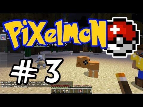 Minecraft Pixelmon - E03