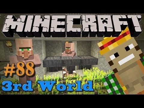 Farm, Villagers Farm! - Minecraft 3rd World LP #88
