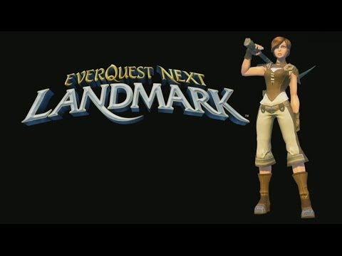 EverQuest Next Landmark - Getting Started Guide (Gameplay / Tutorial)