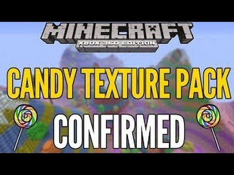 Minecraft XBOX 360 / PS3 NEW CANDY Texture Pack Showcase