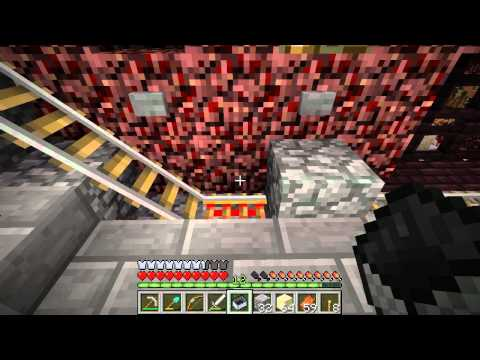 Red3yz' Minecraft LP Ep.22 - Zombies and Nether Base Upgrades