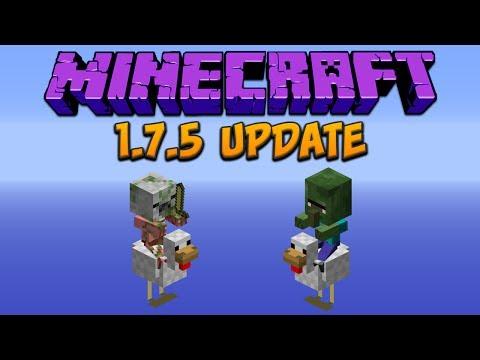Minecraft: 1.7.5 Update
