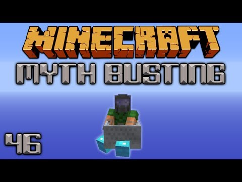 Feather Falling Damage When Riding [Minecraft Myth Busting 46]