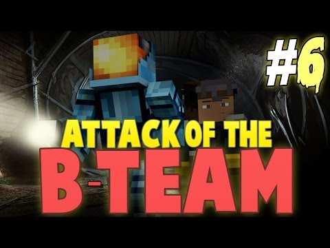 Minecraft: Attack of the B-Team Modpack w/ Tyler - Ep. 6 - How to Build the Best Mineshaft!