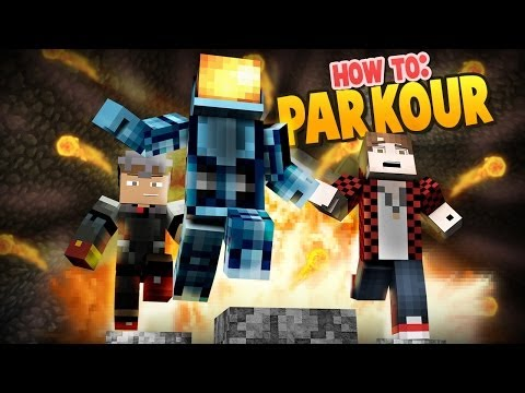 Minecraft: How to Parkour w/ Mitch and Tyler!