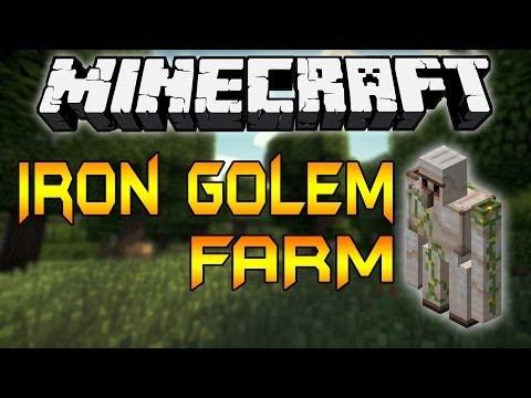 Minecraft 1.8: Iron Golem Softener TUTORIAL