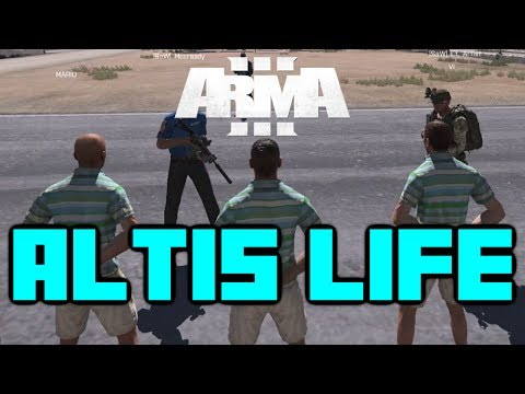 Arma 3: Altis Life - Let's Play - Episode 1 - There a problem officer?