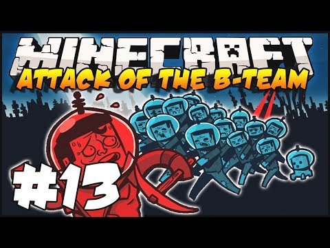 Minecraft - Attack of The B-Team - Ep.13 : The Promised Lag Land & Dragons!