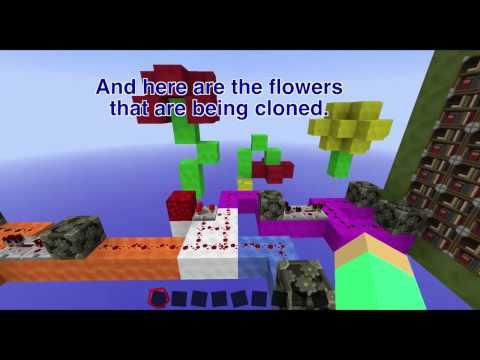 Minecraft Concept:  GROW GIANT FLOWERS [without mods]
