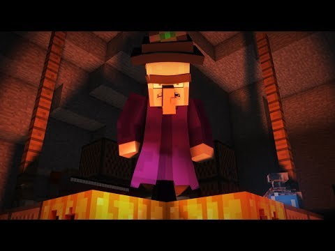Witch Encounter - Minecraft Animation